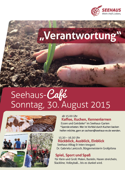 Seehaus-Café Verantwortung