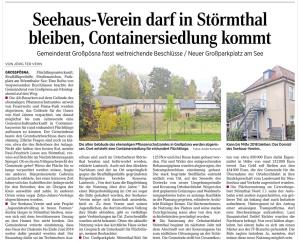 15-10-21 Seehaus Störmthal darf bis 2018 bleiben