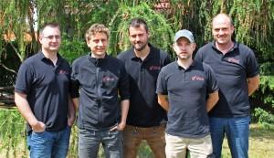 Das Ausbilderteam in Störmthal