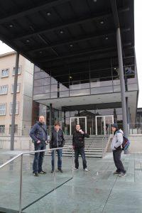Hier geht's rein in den Sächsischen Landtag