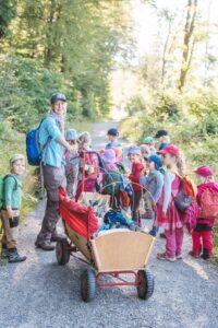 Waldkindergarten Erzieher Erzieherin Pädagogische Fachkraft Sozialpädagoge Sozialpädagogin Kindergarten