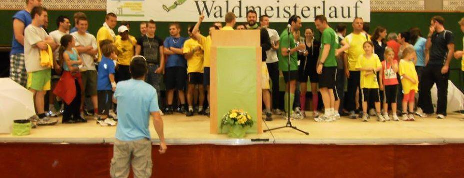 Waldmeisterlauf Siegerehrung